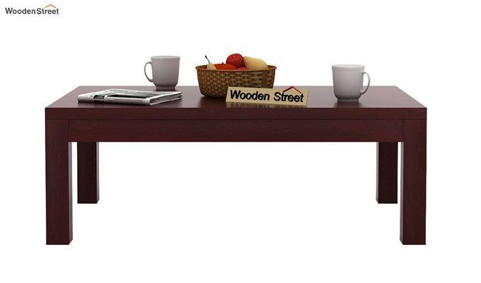 Patricia Coffee Table (Mahogany Finish)-2