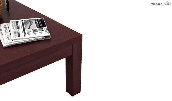 Patricia Coffee Table (Mahogany Finish)-3