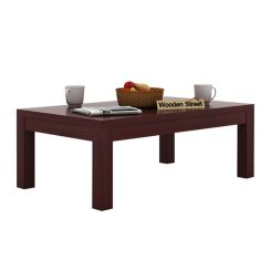 Patricia Coffee Table (Mahogany Finish)
