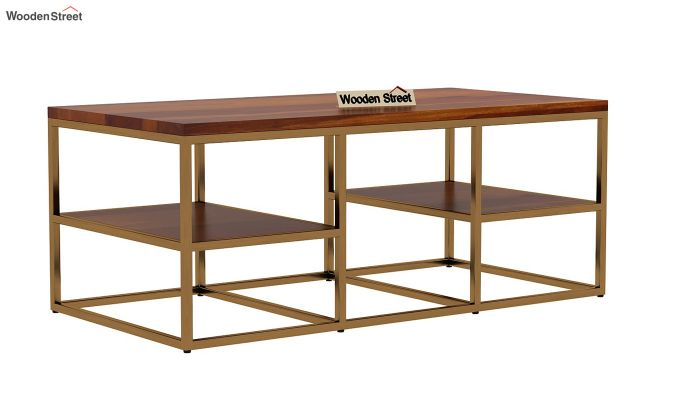 Patrick Coffee Table (Honey Finish)-3