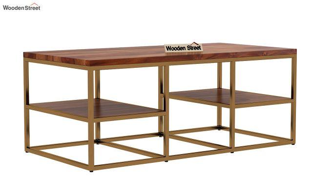 Patrick Coffee Table (Teak Finish)-3