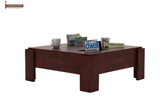 Penny Coffee Table (Mahogany Finish)-1