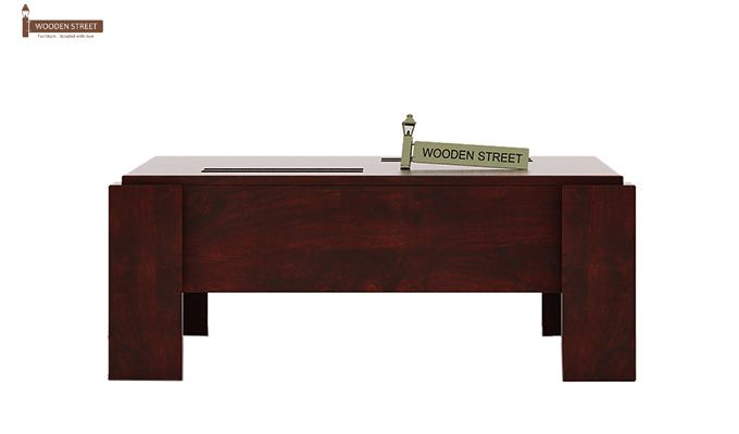 Penny Coffee Table (Mahogany Finish)-5