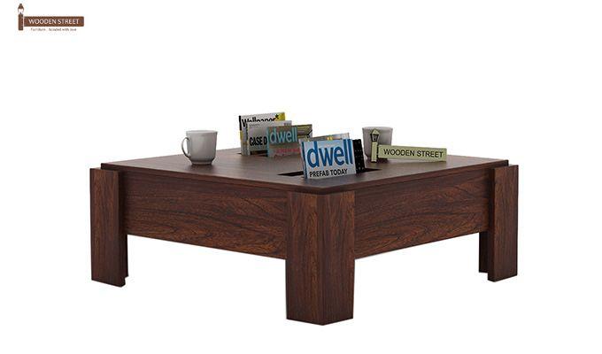 Penny Coffee Table (Walnut Finish)-1