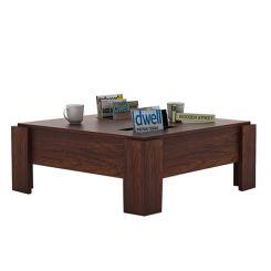 Penny Coffee Table (Walnut Finish)