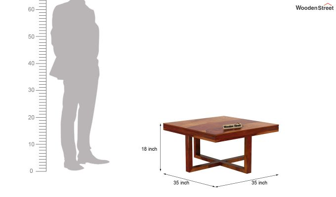 Petlin Coffee Table (Honey Finish)-12