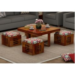 Petlin Coffee Table (Honey Finish)