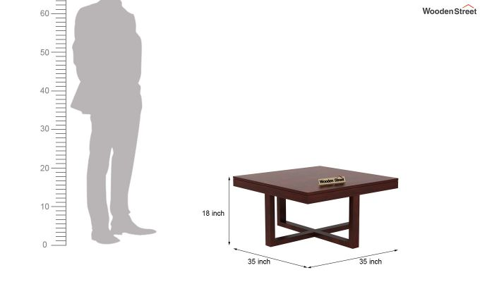 Petlin Coffee Table (Mahogany Finish)-12