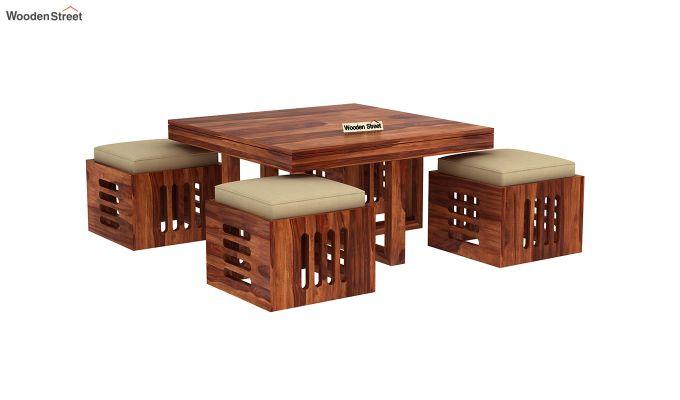 Petlin Coffee Table (Honey Finish)-4