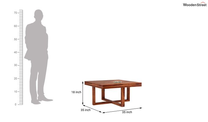 Petlin Coffee Table (Honey Finish)-9