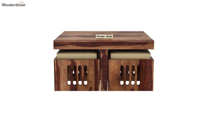 Petlin Coffee Table (Teak Finish)-3