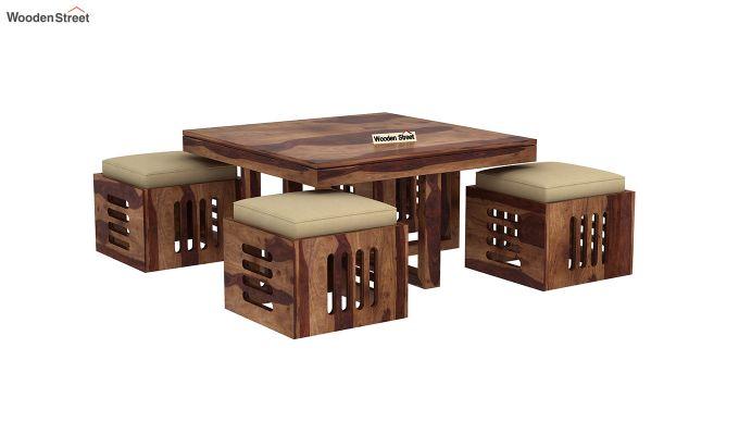 Petlin Coffee Table (Teak Finish)-4