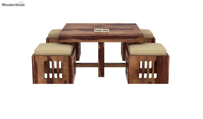 Petlin Coffee Table (Teak Finish)-5