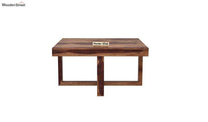 Petlin Coffee Table (Teak Finish)-7