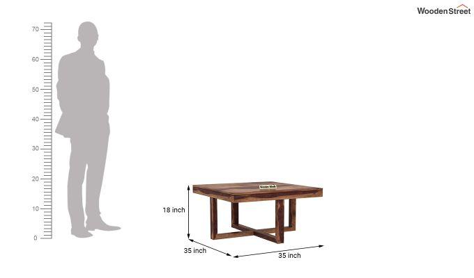 Petlin Coffee Table (Teak Finish)-9