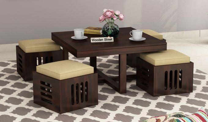 Petlin Coffee Table (Walnut Finish)-1