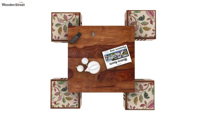 Petlin Coffee Table (Teak Finish)-7
