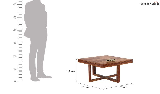 Petlin Coffee Table (Teak Finish)-12