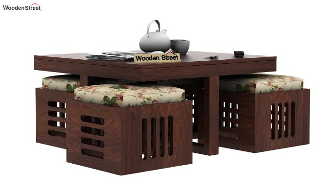 Petlin Coffee Table (Walnut Finish)-4