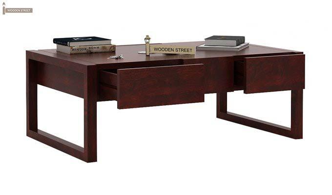 Philis Tea Table (Mahogany Finish)-3