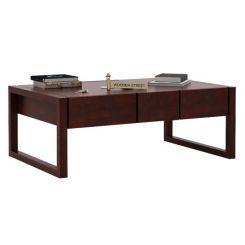 Philis Tea Table (Mahogany Finish)