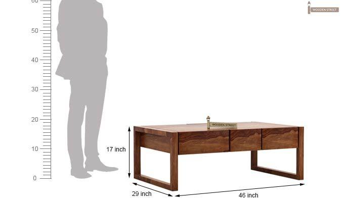 Philis Tea Table (Teak Finish)-7