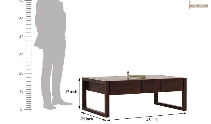 Philis Tea Table (Walnut Finish)-7