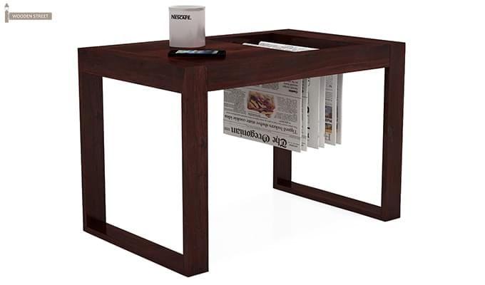 Phineas Coffee Table (Mahogany Finish)-2