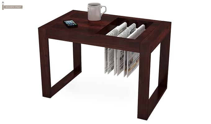 Buy phineas coffee table mahogany finish online in india for Buy cheap coffee table online