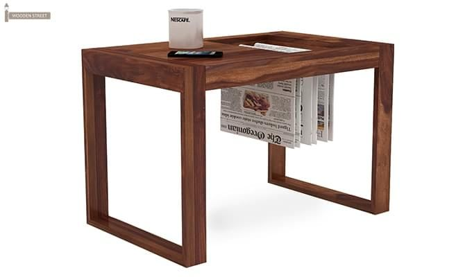 Phineas Coffee Table (Teak Finish)-2