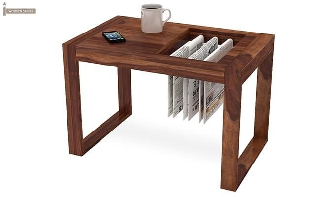 Phineas Coffee Table (Teak Finish)-5
