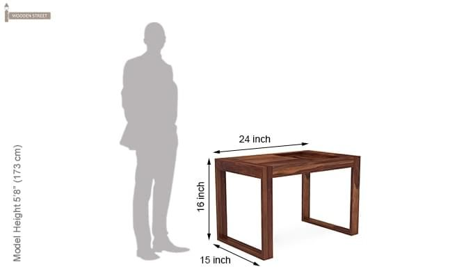 Phineas Coffee Table (Teak Finish)-8