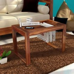 Phineas Coffee Table (Teak Finish)