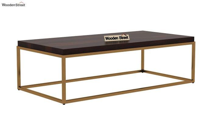 Plane Coffee Table (Walnut Finish)-3