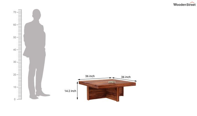 Reid Coffee Table (Honey Finish)-8