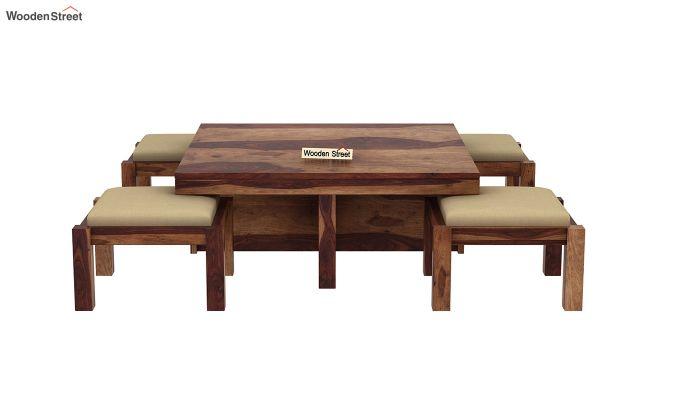 Reid Coffee Table (Teak Finish)-3