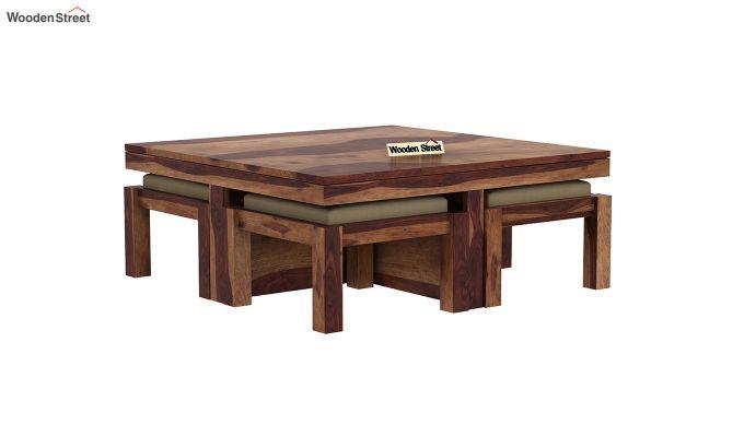 Reid Coffee Table (Teak Finish)-4