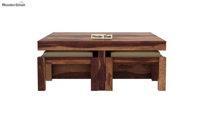 Reid Coffee Table (Teak Finish)-5