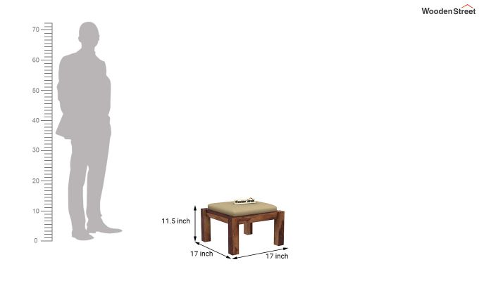 Reid Coffee Table (Teak Finish)-9