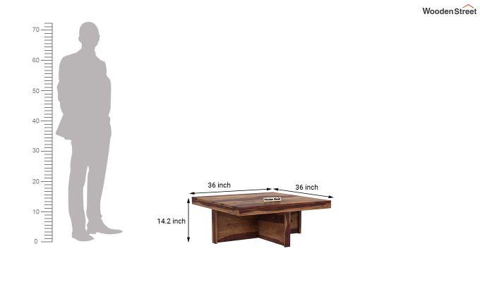 Reid Coffee Table (Teak Finish)-8