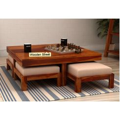 Reid Coffee Table (Honey Finish)
