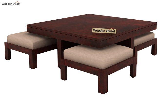 Reid Coffee Table (Mahogany Finish)-3