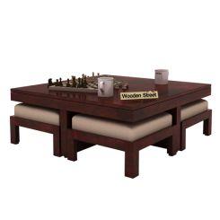 Reid Coffee Table (Mahogany Finish)