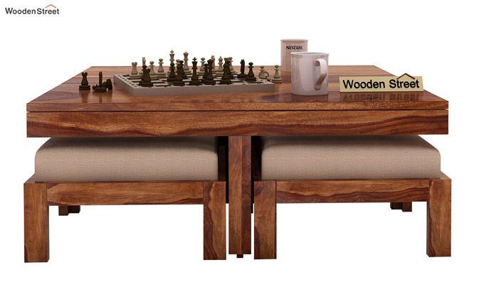 Reid Coffee Table (Teak Finish)-2