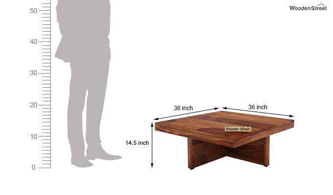 Reid Coffee Table (Teak Finish)-7