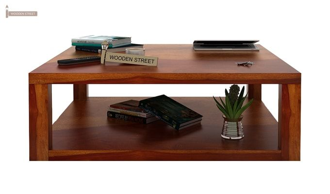 Restal Coffee Table (Honey Finish)-2