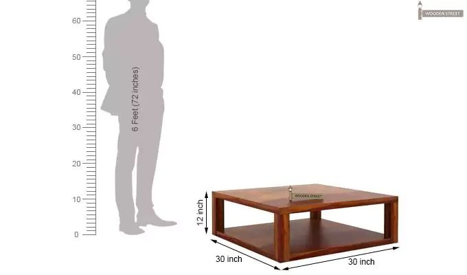 Restal Coffee Table (Honey Finish)-5