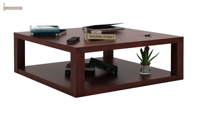 Restal Coffee Table (Mahogany Finish)-2