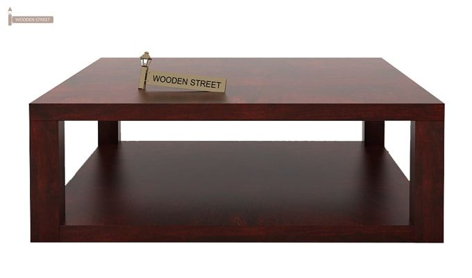 Restal Coffee Table (Mahogany Finish)-4