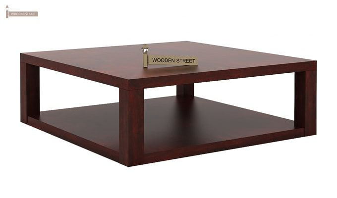 Restal Coffee Table (Mahogany Finish)-5